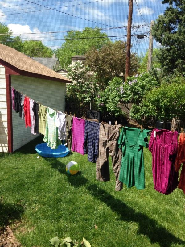 Clotheslining